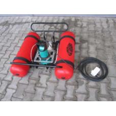 Plávajúce elektrické kalové čerpadlo PEKČ-750/ 1,6 KATARAMO E 750/1,6