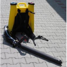 Motorová chrbtová striekačka MZS - 13 model vzduch-voda-pena